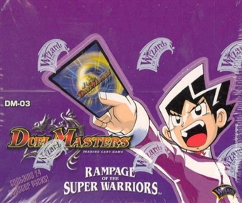 WOTC DuelMasters Rampage of the Super Warriors Booster Box