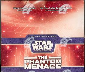 WOTC Star Wars TCG Phantom Menace Booster Box