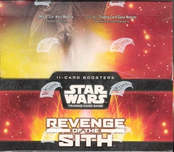 WOTC Star Wars TCG Revenge of the Sith Booster Box