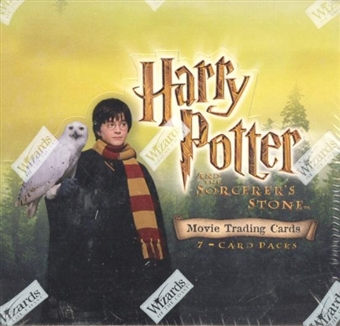 Harry Potter and the Sorcerer's Stone Hobby Box (2001 WOTC)