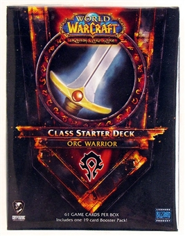 World of Warcraft 2011 Spring Class Starter Deck Horde Orc Warrior