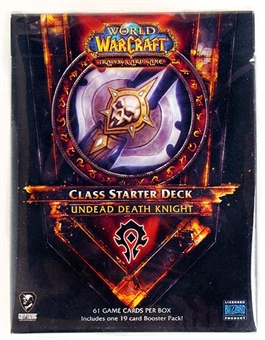 World of Warcraft 2011 Spring Class Starter Deck Horde Undead Death Knight