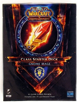 World of Warcraft 2011 Spring Class Starter Deck Alliance Gnome Mage