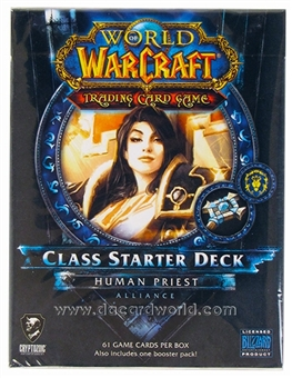 World of Warcraft 2013 Spring Class Starter Deck - Alliance Human Priest
