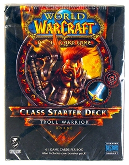 World of Warcraft 2013 Spring Class Starter Deck - Horde Troll Warrior