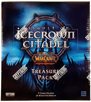 World of Warcraft Assault on Icecrown Citadel Treasure Pack Box