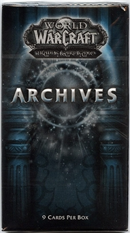 World of Warcraft Archives Booster Pack