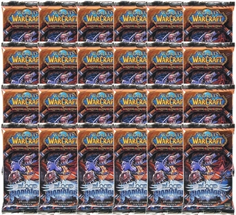 World of Warcraft Blood of Gladiators Booster 24-Pack Lot (Box)