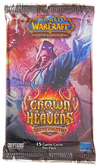 World of Warcraft Aftermath: Crown of the Heavens Booster Pack