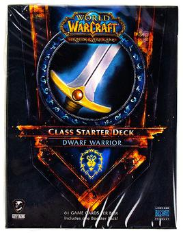 World of Warcraft 2011 Fall Class Starter Deck Alliance Dwarf Warrior