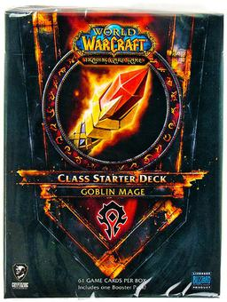 World of Warcraft 2011 Fall Class Starter Deck Horde Goblin Mage
