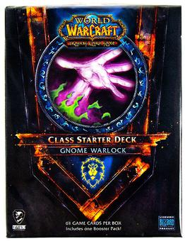 World of Warcraft 2011 Fall Class Starter Deck Alliance Gnome Warlock