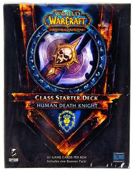 World of Warcraft 2011 Fall Class Starter Deck Alliance Human Death Knight