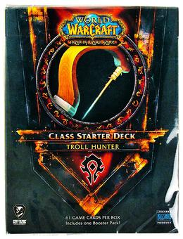 World of Warcraft 2011 Fall Class Starter Deck Horde Troll Hunter