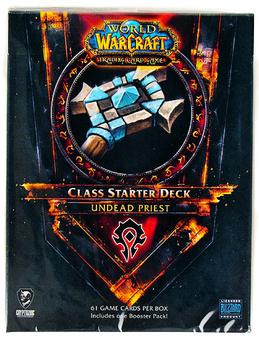 World of Warcraft 2011 Fall Class Starter Deck Horde Undead Priest