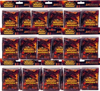 World of Warcraft Deathwing Card Sleeves 80 Count Pack (Lot of 10)