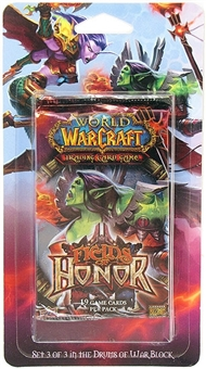 World of Warcraft Fields of Honor Blister Pack