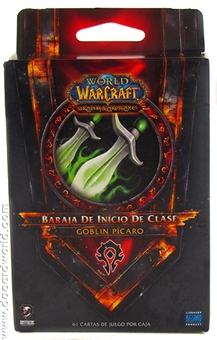 World of Warcraft 2011 Spring Class Starter Deck Horde Goblin Rogue (Spanish)