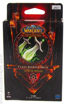 World of Warcraft 2011 Spring Class Starter Deck Horde Goblin Rogue (Japanese) (LOT OF 20)