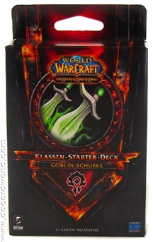 World of Warcraft 2011 Spring Class Starter Deck Horde Goblin Rogue (German)