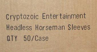 World of Warcraft Headless Horseman Card Sleeves 50 Pack Box