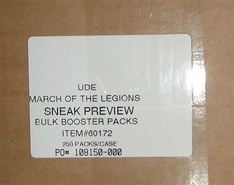 World of Warcraft March of the Legion Booster 250-Pack Case