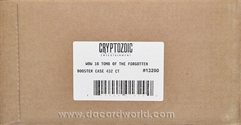 World of Warcraft Aftermath: Tomb of the Forgotten Booster 12-Box Case