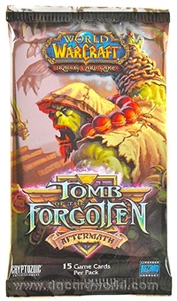 World of Warcraft Aftermath: Tomb of the Forgotten Booster Pack
