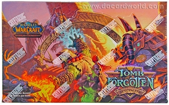 World of Warcraft Aftermath: Tomb of the Forgotten Booster Box (French)