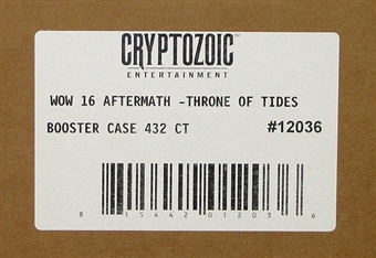 World of Warcraft Aftermath: Throne of the Tides Booster 12-Box Case