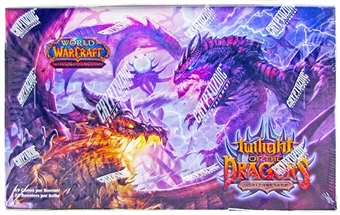 World of Warcraft Twilight of the Dragons Booster Box (French)