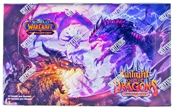 World of Warcraft Twilight of the Dragons Booster Box (German)