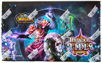 World of Warcraft Aftermath: Throne of the Tides Booster Box (Italian)