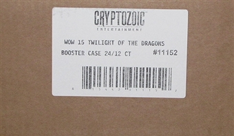 World of Warcraft Twilight of the Dragons Booster 12-Box Case