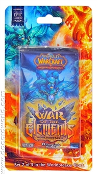 World of Warcraft War of the Elements Blister Pack