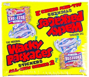 Wacky Packages Series 2 24-Pack 16-Box Case (2005 Topps)