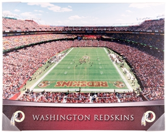 Washington Redskins Artissimo Gradient Stadium FedEx Field 22x28 Canvas