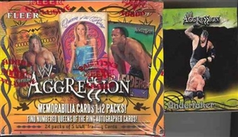 2003 Fleer WWF WWE Aggression Wrestling Hobby Box