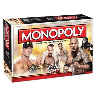 WWE Edition Monopoly Game (USAopoly)