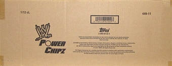 2011 Topps WWE Power Chipz Wrestling 12-Pack Box