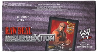 Comic Images WWE Raw Deal Insurrextion Wrestling Starter Box