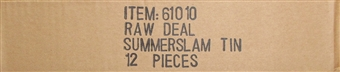 Comic Images WWE Raw Deal Summer Slam Wrestling 12-Booster Tin Case