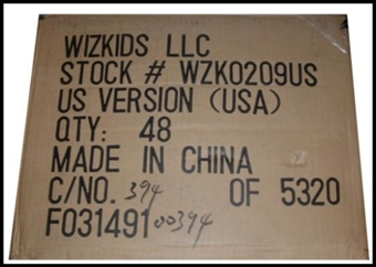 WizKids Mage Knight Dragon's Gate 48 ct. Booster Case #WZK209