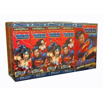 DC Comics HeroClix: Superman/Wonder Woman Booster Brick (9 Ct.)