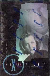 X-Files Seasons 4 and 5 Hobby Box (2001 InkWorks)