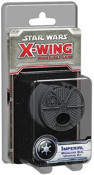 Star Wars X-Wing Miniatures Game: Imperial Maneuver Dial Upgrade Kit