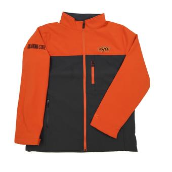 Oklahoma State Cowboys Colosseum Orange & Grey Yukon II Full Zip Jacket (Adult XXL)
