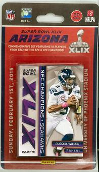 2015 Panini Super Bowl XLIX Set (Patriots & Seahawks)