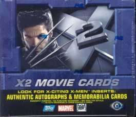 X-Men X2 Hobby Box (2003 Topps)