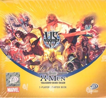 Vs System Marvel The X-Men 2-Player Starter Deck Box